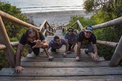 Foto promocional del grupo Los Jaguares de la Bahía