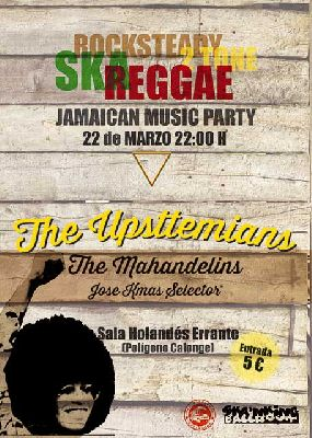 Concierto: Jamaican music party en la sala Höllander Sevilla