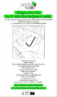 Paseos Jane's walk Sevilla 2014