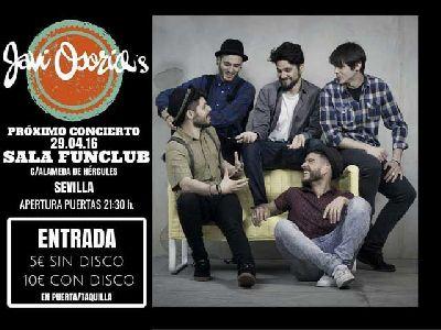 Concierto: Javi Osorio en FunClub Sevilla (abril 2016)