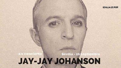 Cartel del concierto de Jay-Jay Johanson en el Teatro Alameda de Sevilla 2019