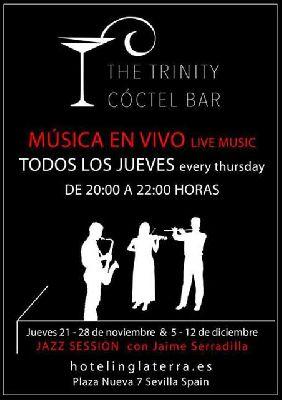 Concierto: jazz con Jaime Serradilla en Hotel Inglaterra Sevilla