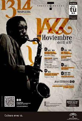 Ciclo Jazz en noviembre 2013 en el Central de Sevilla