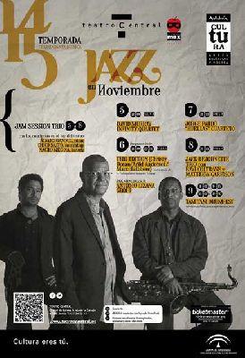 Ciclo Jazz en noviembre 2014 en el Central de Sevilla