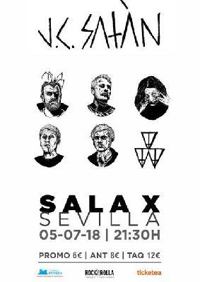 Concierto: J.C. Satàn en la Sala X de Sevilla