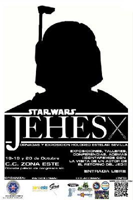 X JEHES 2013 Jornadas sobre la Guerra de las Galaxias en Sevilla