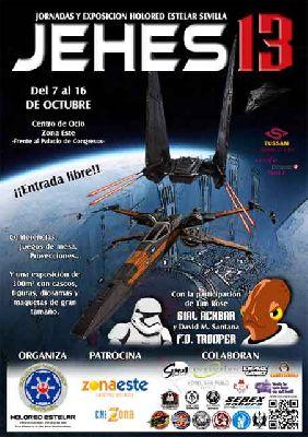 XIII JEHES 2016 Jornadas sobre La Guerra de las Galaxias en Sevilla