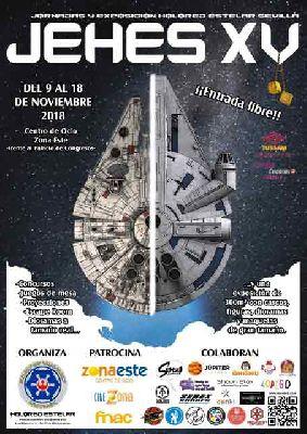 XV JEHES 2018 Jornadas sobre La Guerra de las Galaxias en Sevilla