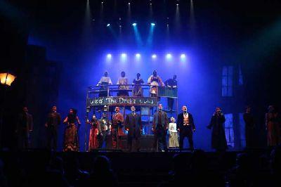 Foto promocional de Jekyll & Hyde, el musical de la compañía Theatre Properties