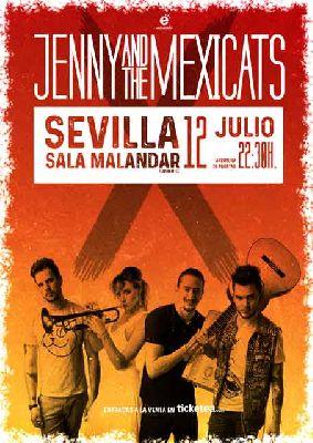 Concierto: Jenny and the Mexicats en Malandar Sevilla 2018