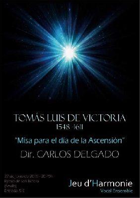 Concierto: Misa para el día de la Ascensión en iglesia San Isidoro Sevilla