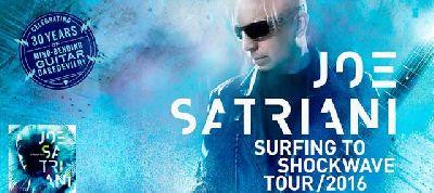 Concierto: Joe Satriani en Custom Sevilla 2016