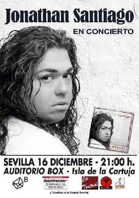 Concierto: Jonathan Santiago en Espacio Box Sevilla