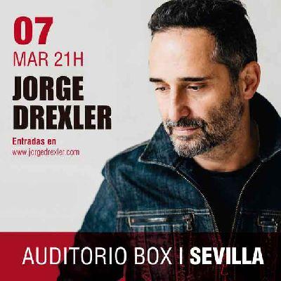 Concierto: Jorge Drexler en Espacio Box Sevilla 2018