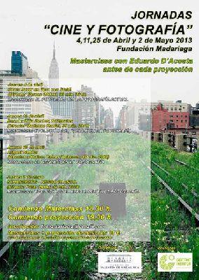 Jornadas de Cine y Fotografía en la Fundación Madariaga Sevilla