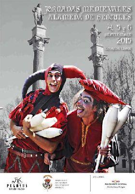 Jornadas medievales en la Alameda de Hércules de Sevilla (2015)