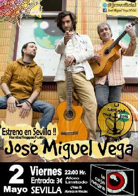 Concierto: José Miguel Vega en La Caja Negra de Sevilla