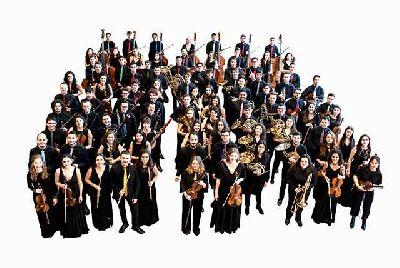 Foto promocional de la Joven Orquesta Nacional de España (JONDE)