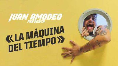 Cartel del espectáculo La máquina del tiempo de Juan Amodeo