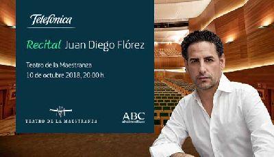 Concierto: Juan Diego Flórez en el Teatro de la Maestranza de Sevilla