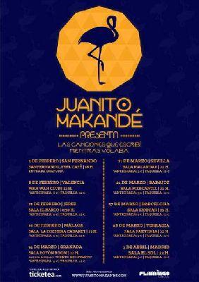 Concierto: Juanito Makandé en la sala Malandar de Sevilla