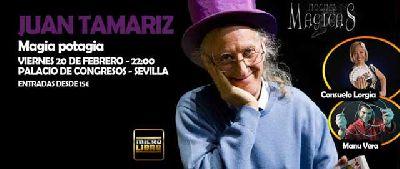 Magia: Juan Tamariz en Fibes Sevilla
