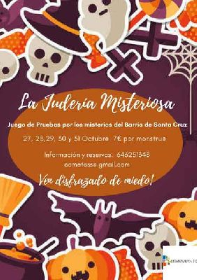 Judería misteriosa infantil por Mosaiqueando en Sevilla 2018