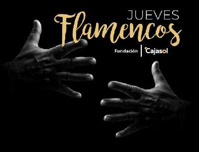 Cartel de Los Jueves Flamencos de Cajasol en Sevilla otoño 2019