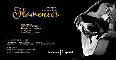 Cartel de Los Jueves Flamencos de Cajasol en Sevilla otoño 2020