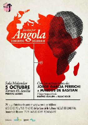 Concierto: Juntos por Angola en Malandar Sevilla 2018