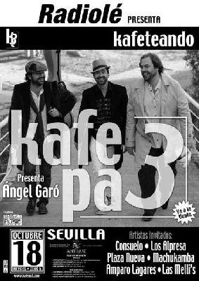 Concierto: Kafe pa 3 en Antique Sevilla