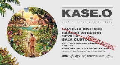 Concierto: Kase.O presenta El Círculo en Custom Sevilla