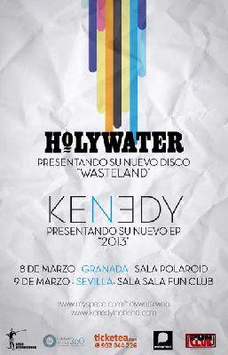 Concierto: Holywater y Kenedy en Sevilla (FunClub)