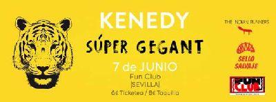 Concierto: Kenedy y Súper Gegant en FunClub Sevilla