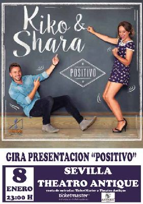 Concierto: Kiko y Shara en Antique Sevilla 2016