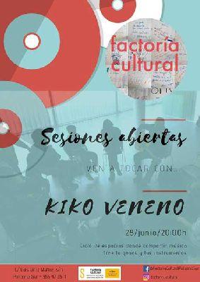 Concierto: Kiko Veneno en Sesiones abiertas de la Factoría Cultural de Sevilla
