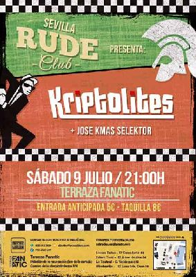 Concierto: Kriptolites en la Terraza Fanatic de Sevilla