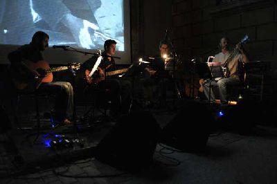 Cine mudo con música de Krooked Tree en la Sala Cero de Sevilla