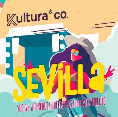 Cartel del ciclo Kultura & Co en Fibes Sevilla 2020