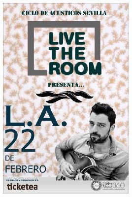 Concierto: L.A. en Live the Room Sevilla (Sala Obbio)