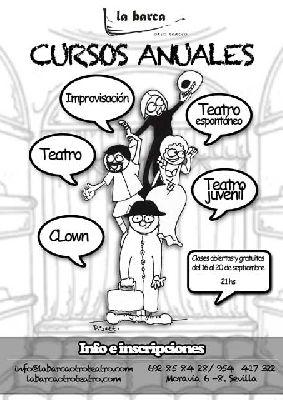 Comienzo curso 2013-2014 con clases gratuitas en La Barca Teatro