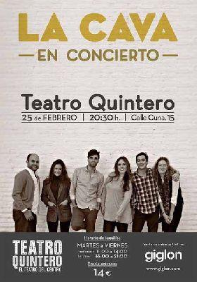 Concierto: La Cava en el Teatro Quintero de Sevilla