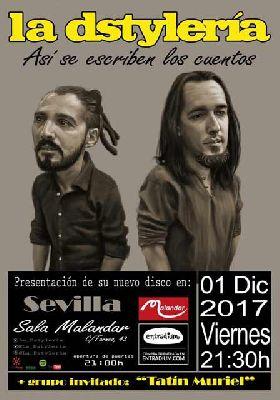 Concierto: La Dstyleria en Malandar Sevilla 2017