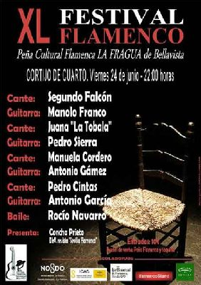 XL Festival de Flamenco de La Fragua en Sevilla 2016