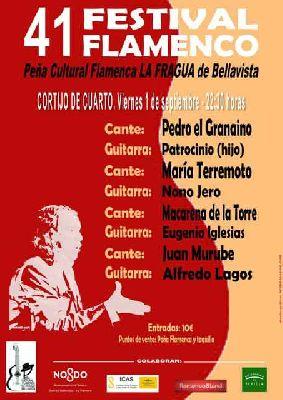 XLI Festival de Flamenco de La Fragua en Sevilla 2017