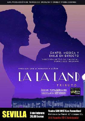 Musical: La La Land El Tributo en los Padres Blancos de Sevilla 2018