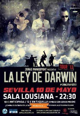 Concierto: La Ley de Darwin en Sevilla