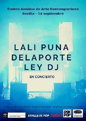 Concierto: Lali Puna, Delaporte y Ley DJ en el CAAC Sevilla 2018