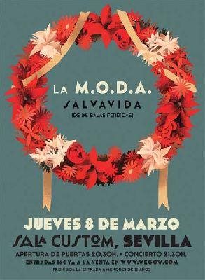 Concierto: La MODA en Custom Sevilla 2018