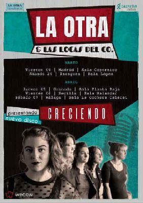 Concierto: La Otra y Las Locas del Co en Malandar Sevilla (abril 2018)